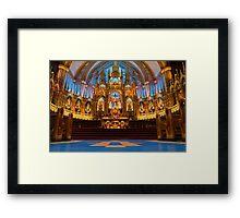 Notre Dame de Montreal I Framed Print