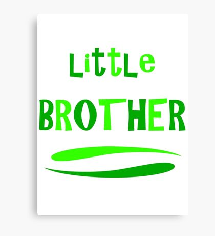 Little Brother Canvas Print