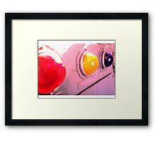 red yellow blue Framed Print