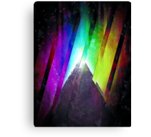The Cosmic Pyramid Canvas Print