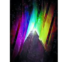 The Cosmic Pyramid Photographic Print