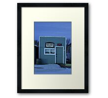 Sukanen #5 - Telephone and Post Office Framed Print