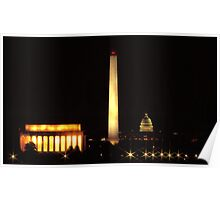 Lincoln Memorial 3 Poster