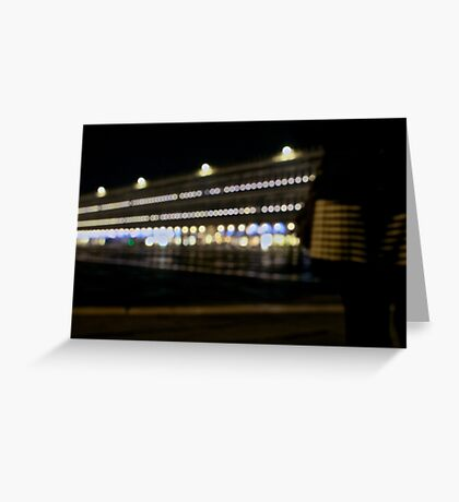 St Marks Square ~ Long Exposure  Greeting Card