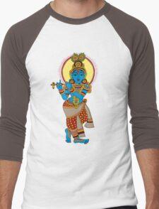 little krishna Men's Baseball ¾ T-Shirt