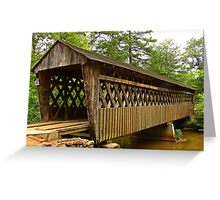 Poole's Mill Covered Bridge Greeting Card