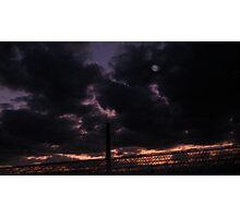 Autumn Sky Through Glasshouse Photographic Print
