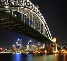 Sydney Harbour Bridge by Andrew  Mammoliti