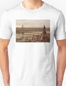 Riga from above Unisex T-Shirt