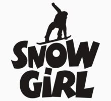 Snowgirl Snowboard Kids Clothes