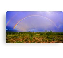 God's Covenant with Man Canvas Print