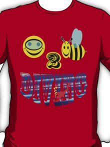 happy 2 bee diving T-Shirt