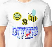 happy 2 bee diving Unisex T-Shirt