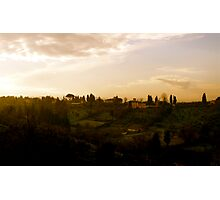 Tuscany at Twilight Photographic Print