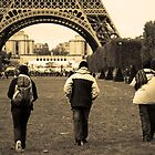 Eifel Tower Trekking by Luke Martin