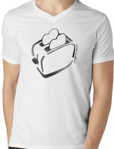 Hot Toasty Love Mens V-Neck T-Shirt