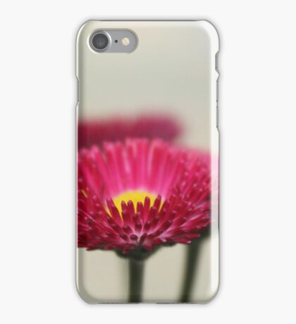 Vibrant Pink Flower iPhone Case/Skin