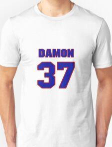 National football player Damon Moore jersey 37 T-Shirt