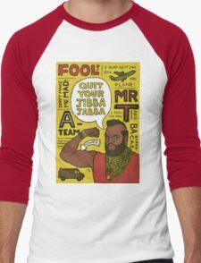jibba jabba Men's Baseball ¾ T-Shirt