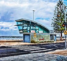 Altona Beach - Life Saving Club Tower - Victoria, Australia by © Helen Chierego