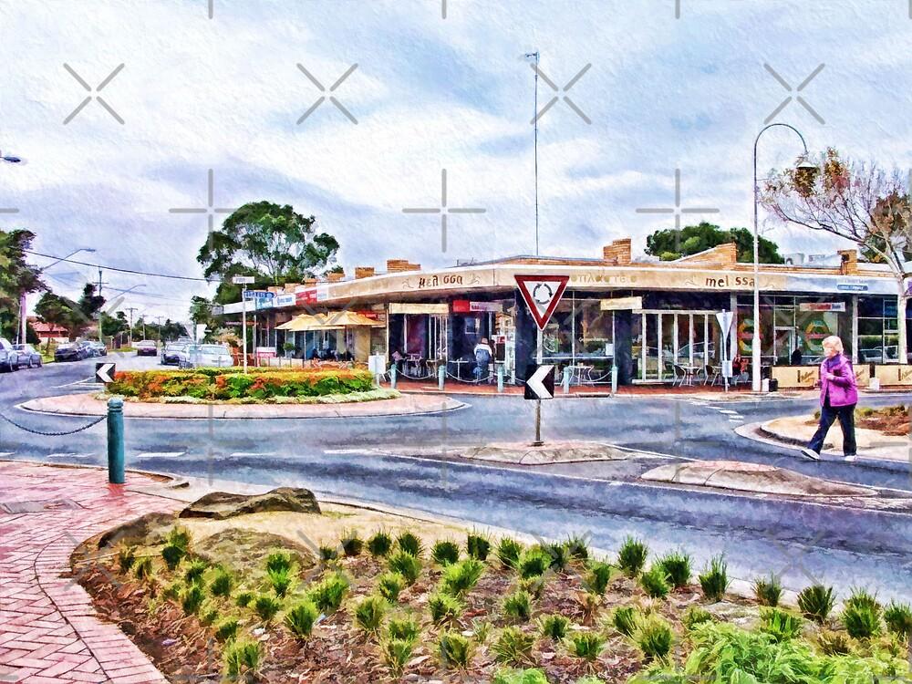 Melissa Cafe, Altona Beach, Victoria, Australia by © Helen Chierego