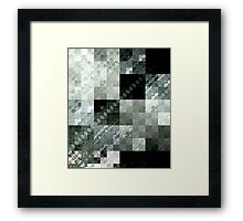 Hip To Be Squared Framed Print