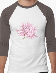 Sakura Love Men's Baseball ¾ T-Shirt