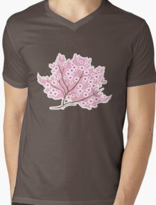 Sakura Love Mens V-Neck T-Shirt