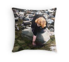 Scavenger II Throw Pillow