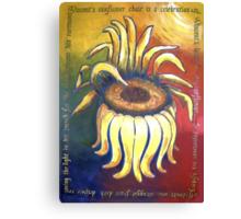 Vincent Sunflower Chair Canvas Print