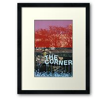 Reflections in Red #3 Framed Print
