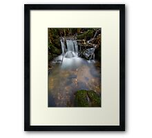 A Soothing Fall Framed Print