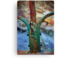 Rusty rails Canvas Print