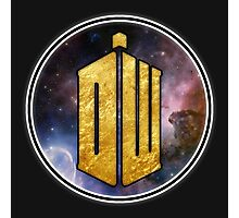 DW - Doctor Who Cool graphic for all products Photographic Print