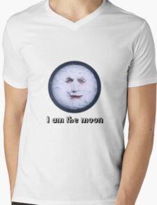 I Am The Moon Mens V-Neck T-Shirt