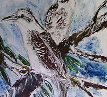 Kookaburras by kdesignz
