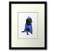 SuperHero Dog Framed Print