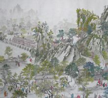 Giant Traditional Chinese Painting by poemandpainting