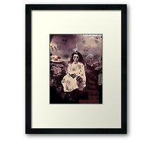 The Girl From Underground Framed Print