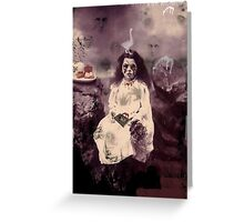 The Girl From Underground Greeting Card