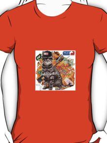 Montage Parody Cat (Explosion) T-Shirt