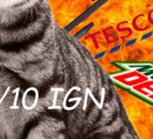 Montage Parody Cat (Explosion) Sticker