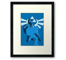 zelda2 Framed Print