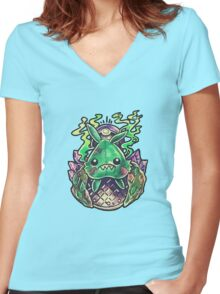 Trubbish Women's Fitted V-Neck T-Shirt