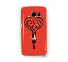 Paint your love song Samsung Galaxy Case/Skin