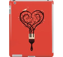 Paint your love song iPad Case/Skin