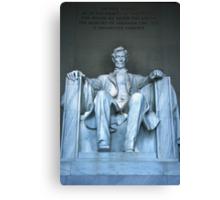 Lincoln Memorial 7 Canvas Print
