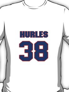 National football player Hurles Scales jersey 38 T-Shirt