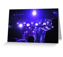 """""""Concert . . ."""" Greeting Card"""