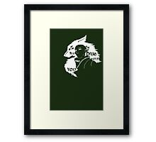 May the Dread Wolf Take You Framed Print